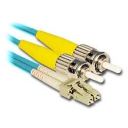 2m LC-ST Multi-Mode Duplex Fibre Patch Cable LSZH 50/125 OM3