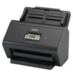 Brother Advanced Document Scanner High Speed (30pp) network scanner, w/ touchscreen LCD & Wi-Fi