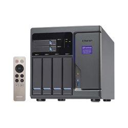 Qnap 6-Bay TurboNAS - SATA 6G, Core i3-6100 3.7 GH, 8GB RAM, 4-LAN, 10G-ready, iSCSI, 250W Single Power supply, 2yr AR Wty