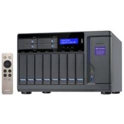 Qnap 12-Bay NAS Tower - 8+4+2 X M.2 Slot (Diskless), 8GB, i3-6700, USB, GbE(4), HDMI, 2yr Wty