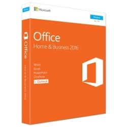 Microsoft Office 2016 Home & Business (32/64 Bit) (replaces T5D-01798) Computer Components