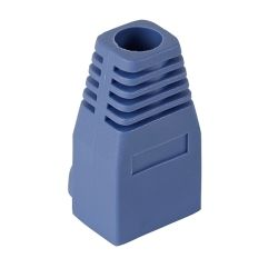 RJ45 Cable Boots - Blue - 10 Pack