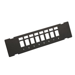 Patch Panel 8-Port UNLOADED Wall mount