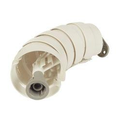 Elsafe Umbilical Cable Management: Pathfinder Floor to Desk 780mm - White