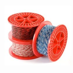 Jumper Wire Red White - 100m Roll