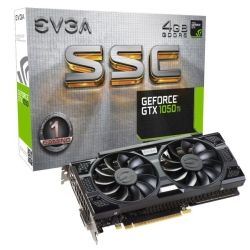 EVGA nVidia GeForce GTX 1050 Ti SSC Gaming PCIe Video Graphics Card