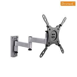 Brateck Aluminium Articulating Wall Mount Bracket for 13-42 LED, 3D LED, LCD, Flat Panel TVs