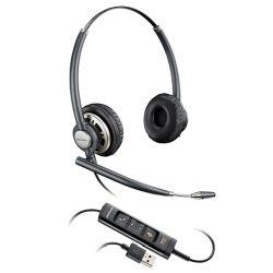 Plantronics EncorePro HW725 Binaural USB PC Headset W/Inline Controls