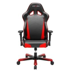 DXRacer TS29 Tank Series Gaming Chair - Black and Red