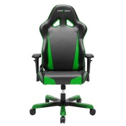 DXRacer TS29 Tank Series Gaming Chair - Black and Green