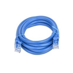 8Ware Cat 6a UTP Ethernet Cable, Snagless - 2m - Blue