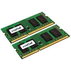 Crucial DDR3 SODIMM PC10600-16GB Kit (2x 8GB) 1333Mhz CL9 204-Pin 1.35V/1/5V Notebook Memory for Mac