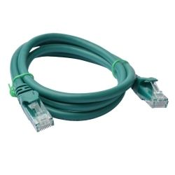8Ware Cat 6a UTP Ethernet Cable, Snagless - 3m - Green