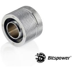 Bitspower STB ID 1/2 OD 3/4 Comp Fitting - Silver