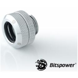 Bitspower G1/4 HTB 12mm Multi-Link Fitting - Silver