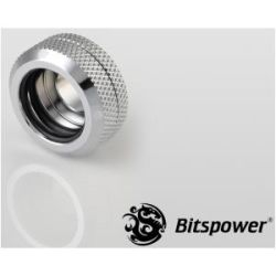 Bitspower G1/4 HTB 16mm Multi-Link Fitting - Silver