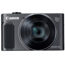 Canon PowerShot SX620HS Black 20.2 MP CMOS Sensor