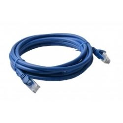 8Ware Cat 6a UTP Ethernet Cable, Snagless - 5m - Blue