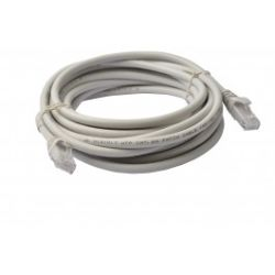 8Ware Cat 6a UTP Ethernet Cable, Snagless - 5m - Grey