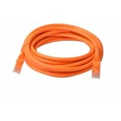 8Ware Cat 6a UTP Ethernet Cable, Snagless - 5m - Orange