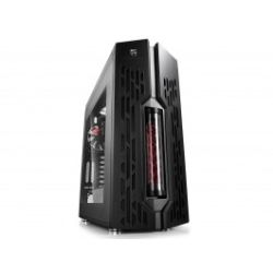 Deepcool Genome Mid Tower Case 2 W/ 360mm LCS, PEC-250, Black/Red Helix