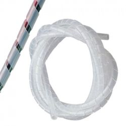 Spiral Binding Cable Wrap - 30.5m x 12mm: Natural