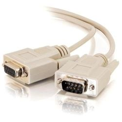 ALOGIC 3m DB9 to DB9 Serial Extension Cable - Male to Female
