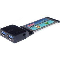 USB 3.0 SuperSpeed 2-Port ExpressCard