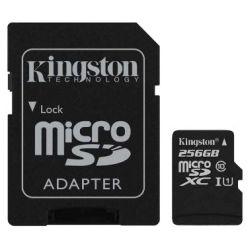Kingston 256GB MICROSDXC Class 10 UHS-I 45R FC