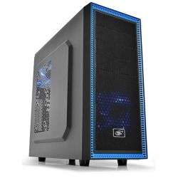 Deepcool Tesseract BF Mid Tower Case, 1x 120mm Fan - Black