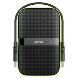 Silicon Power 1TB A60 Tough Portable Hard Drive HDD - 2.5 inch, USB 3.0