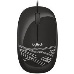 Logitech M105 Optical Mouse - Black