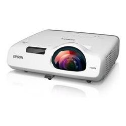 Epson EB-525W, 2800 Lumens, WXGA, Short Throw, 2x VGA, HDMI, 10, 000hr Lamp, USB and LAN