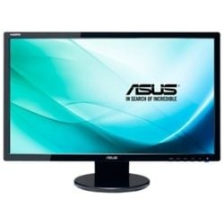 Asus VE248HR 24 inch TN LED Monitor - 1920x1080, 16:9, 1ms, Speakers, VESA, 3yr Wty