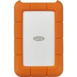 LaCie 4TB Rugged Portable Hard Drive HDD - 2.5 inch, USB-C, 2yr Wty