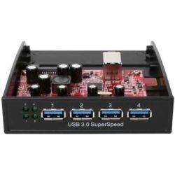 StarTech USB 3.0 Front Panel 4-Port Bay Hub