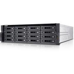 Qnap 16-Bay NAS - Xeon E3, 4GB RAM, USB(8), 10GbE SFP+(2), 3U, 3yr Wty (No Disk)