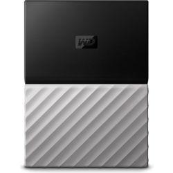 WD My Passport Ultra 4TB Portable Hard Drive HDD - Metal Finish, USB3.0 - Black/Grey
