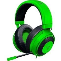 Razer Kraken Pro V2 - Analog Gaming Headset, Green, Oval Ear Cushions, FRML Packaging