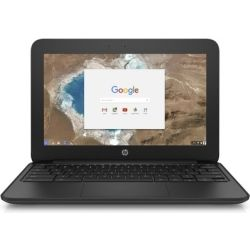 HP ChromeBook 11 G5 EE 11.6 inch HD Touch Notebook Laptop - Celeron N3060 4GB RAM, 32GB SSD, Chrome 64, 12 Mth Wty