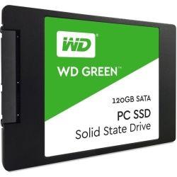 WD Green 3D NAND SSD, 2.5 Form Factor, SATA Interface, 120GB, CSSD Platform, 3yr Warranty
