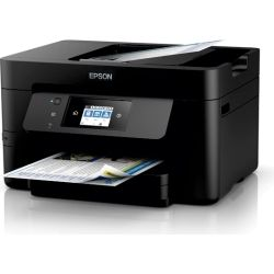 Epson WorkForce WF-3725 Inkjet Multfunction with PrecisionCore - Print/Copy/Scan/Fax/Ethernet/Wi-Fi Direct, 19 ppm Mono/10 ppm Colo