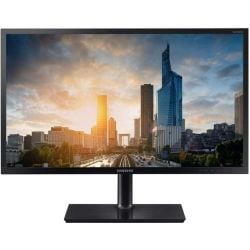 Samsung H65 24 inch Wide PLS LED Monitor - 1920x1200, 16:10, 4ms, DSUB/HDMI/DisplayPort, VESA, 3yr Wty
