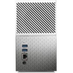 WD My Cloud Home Duo 4TB Dual-Drive Personal Cloud Storage (NAS), RAID1, Media Server, File Sync, PC/Mac Backup - White