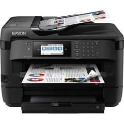 Epson WorkForce A3+ Inkjet Multifunction with PrecisionCore - Print/Copy/Scan/Fax/Ethernet/Wi-Fi Direct, 18 ppm Mono/10 pp