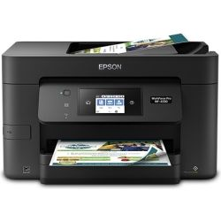 Epson WF-4720 WorkForce Pro Multifunction Printer - FAX, 34ppm(B), 30ppm(C), 4800x1200dpi, 5x Individual DuraBrite Ultra