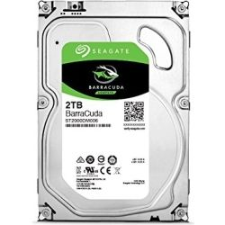 Seagate Barracuda 2TB Desktop Hard Disk Drive HDD - 3.5 inch, 6Gb/S SATA 64MB