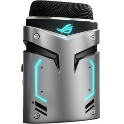 Asus ROG Strix Magnus USB Condenser gaming Microphone with AURA RGB Lighting and Environmental Noise cancellation (ENC) for gaming/streaming