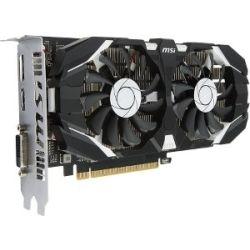 MSI nVidia GeForce GTX 1050 Ti 4GT OC V1 Video Graphics Card