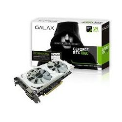 Galax nVidia GeForce GTX 1060 EXOC 6GB Video Graphics Card - White